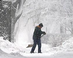 Snowstorm Shovelling