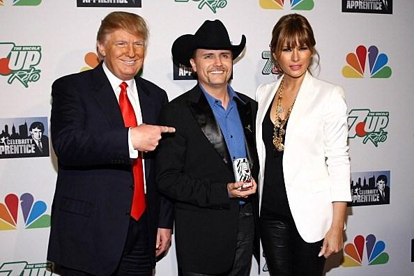 John Rich, Donald Trump & Melania Trump