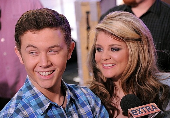 American Idol's Scotty McCreery and Lauren Alaina