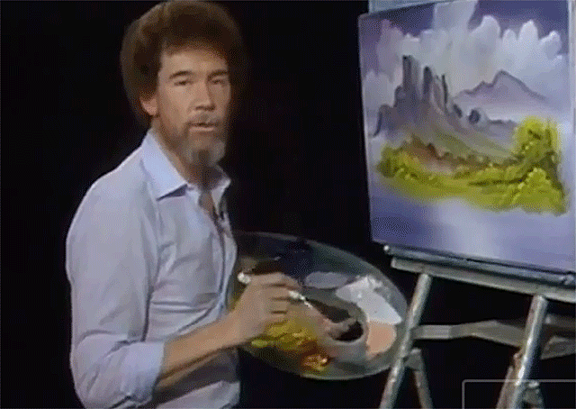 pbs brings bob ross back to life with new auto tuned