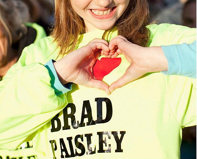 brad paisley fan
