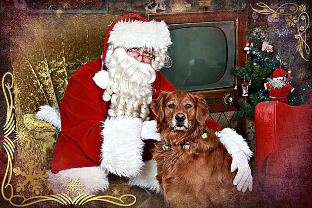Kaycee & Santa