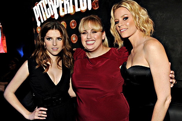 Anna Kendrick, Rebel Wilson and Elizabeth Banks