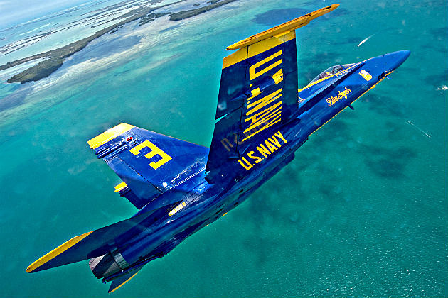 Blue Angels Navy Jet