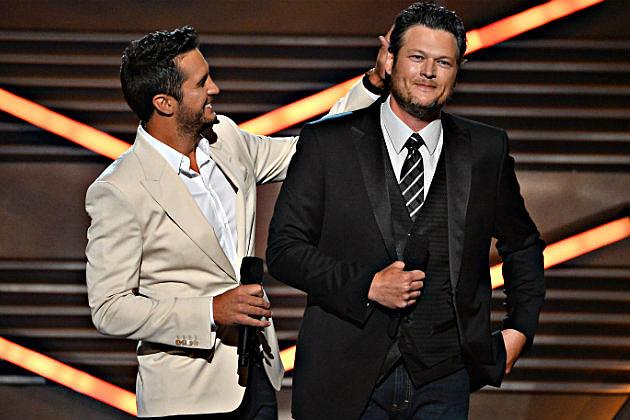 Luke Bryan Blake Shelton 2014 ACM Awards
