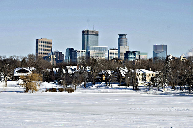 Minneapolis Skyline -Winter