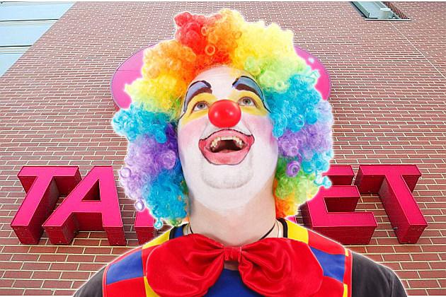 Target clown masks