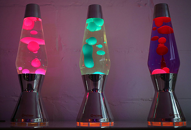 50th Anniversary Of Mathmos Lava Lamps