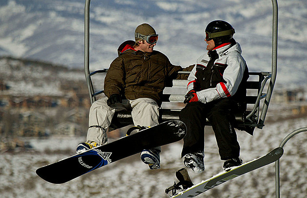 Chairlift speed dating