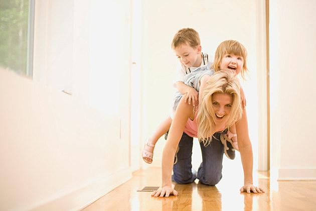 Babysitting children