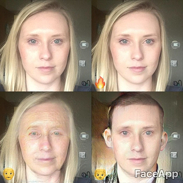 Face App Allows You To See What You Look Like Old