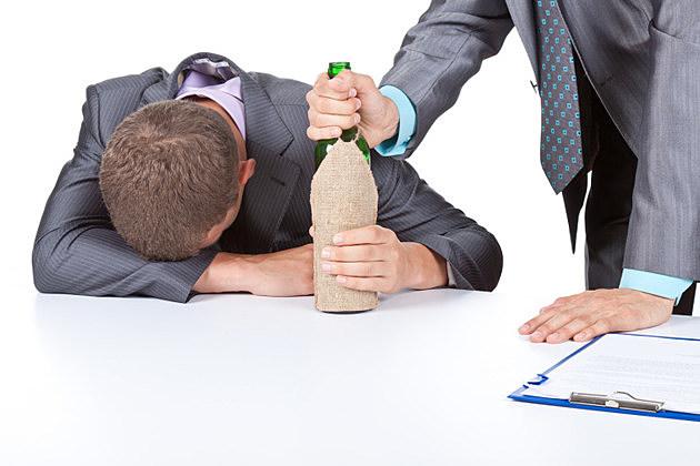 businessmen alcoholism